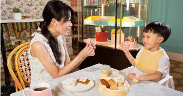 搶佔親子市場 文華餅房與BABYBJÖRN跨界推出莫蘭迪親子下午茶饗宴