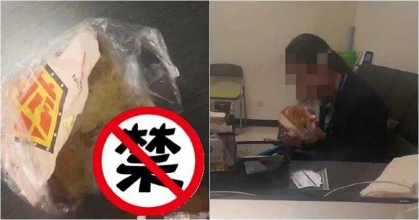 超噁!男幫女同事買煎餅偷「噴射加料」 女同事傻傻吃下肚