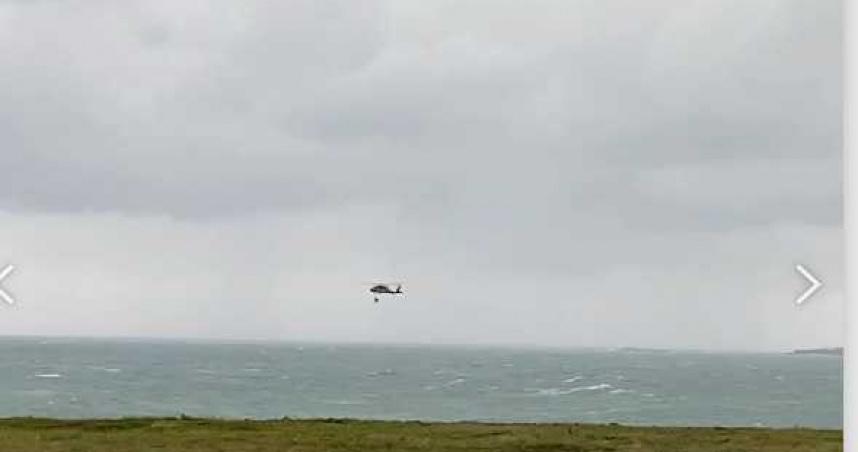 F-5E墜海/2架F-5E戰鬥機屏東外海墜海 2飛官跳傘逃生最新搜救畫面曝光