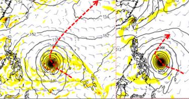 「4月颱」最快2天內生成!明北台濕涼到周六 颱風難解旱象