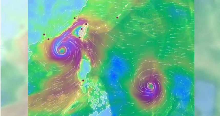 國慶連假恐有「雙颱」生成 台灣東半部變天溼答答