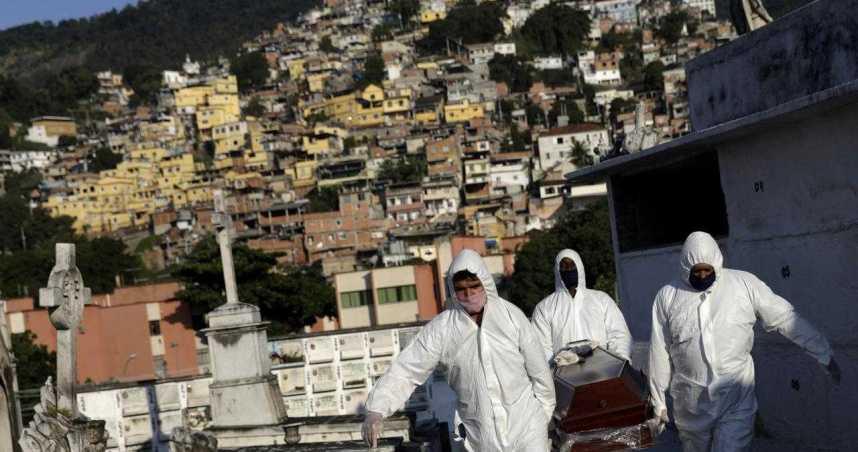 受疫情影響巴西今年GDP將衰退6.7% 生活水準將退回2008年
