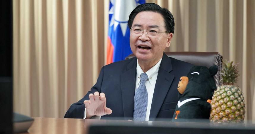「對華政策跨國議會聯盟」上演講 吳釗燮向國際說明鳳梨事件