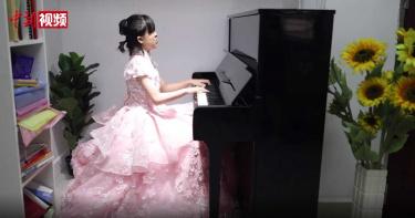 11歲廣東女孩「出生就失明」!練鋼琴3年拿下英國皇家音樂學院證書
