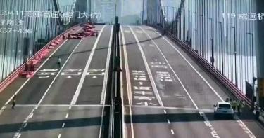有片/廣東虎門大橋海浪般起伏 司機見「橋抖動」傻眼…原因曝光