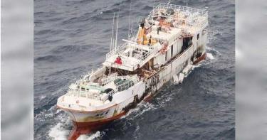 大風浪扯斷「永裕興18號」纜繩 船上10人生死未卜