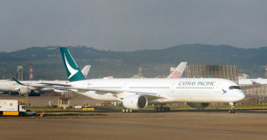 不敵疫情影響 國泰航空2月虧損近「80億」將減少9成運能