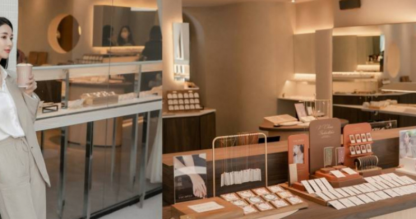 親民飾品品牌VACANZA在中山站赤峰街打造全新「Café in VACANZA假期咖啡町」,10/31前買飾品就送咖啡,還可以在店內邊逛邊喝超友善