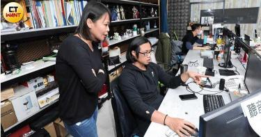 滾黑床賺千萬1/全黑床墊受青睞 OBIS設計生產全部台灣製