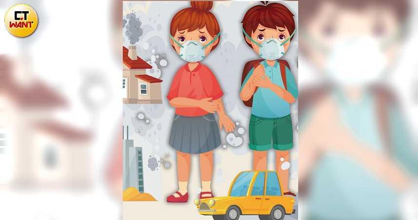空汙殺不死1/PM2.5微粒入侵人體 恐癱瘓免疫系統增過敏發炎癌症