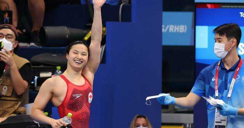 20年前的大陸棄嬰 如今替加拿大奪游泳奧運金牌