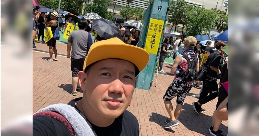 港星杜汶澤力挺香港三罷 呼籲港人「風雨同路」