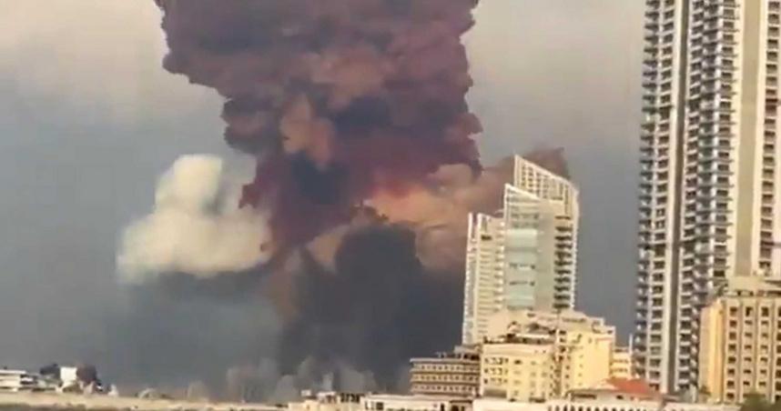 毀滅性爆炸!黎巴嫩首都貝魯特78死4000傷 港口夷為平地