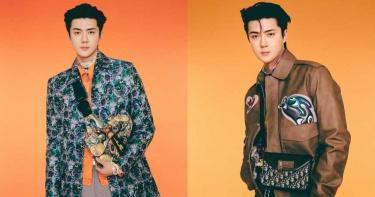 韓國男子天團EXO發行特別專輯外,EXO成員吳世勳Sehun穿這套簡直帥翻天!