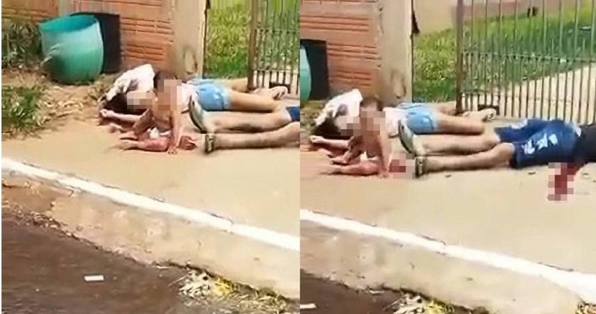 年輕夫妻當街被槍殺「10月大兒子獨坐血泊中」 畫面曝光惹心疼