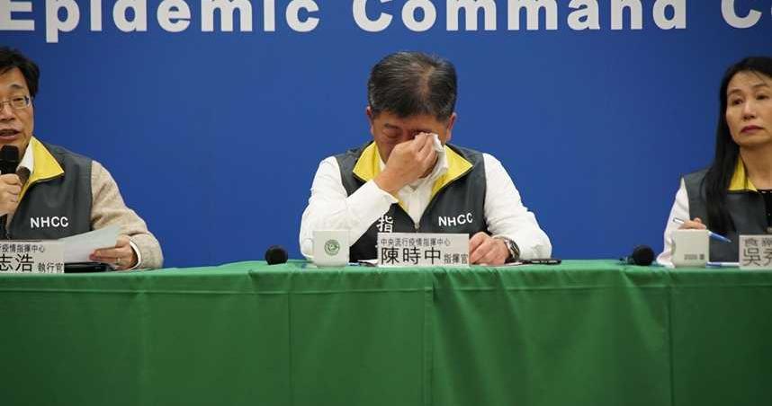 上次睡覺48hrs前…陳時中拚防疫哭了 網友心疼發起「部長去睡覺」活動