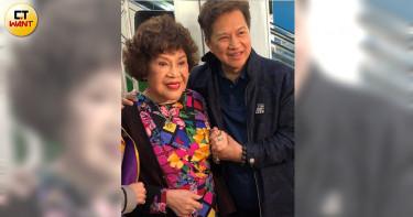 周遊催生林志玲 李朝永寵妻承諾90歲再辦婚宴