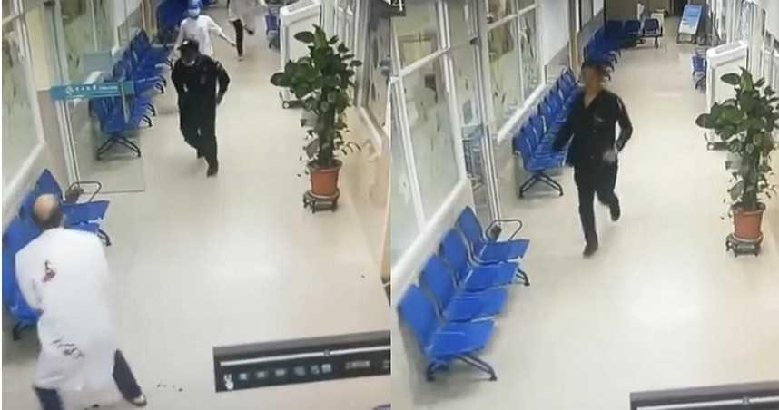男持刀闖醫院狂砍...醫白袍沾滿血!他行兇後「跳樓自殺」身分曝光
