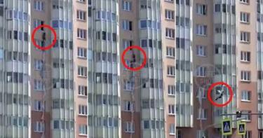酗酒被尪反鎖在家!44歲婦竟「綁床單垂降」9樓墜下慘死