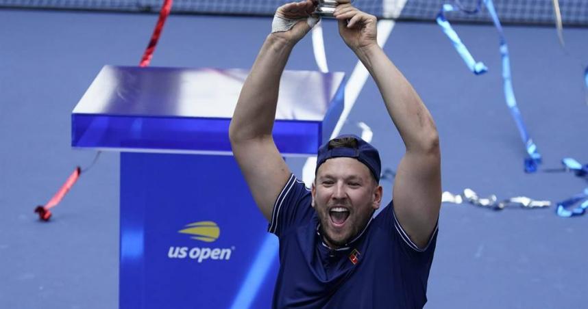 美網公開賽輪椅網球組 兩選手達成年度金滿貫