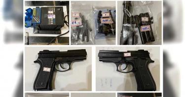 警攻堅民宅查獲2把改造手槍 嫌犯卸責全推給死人