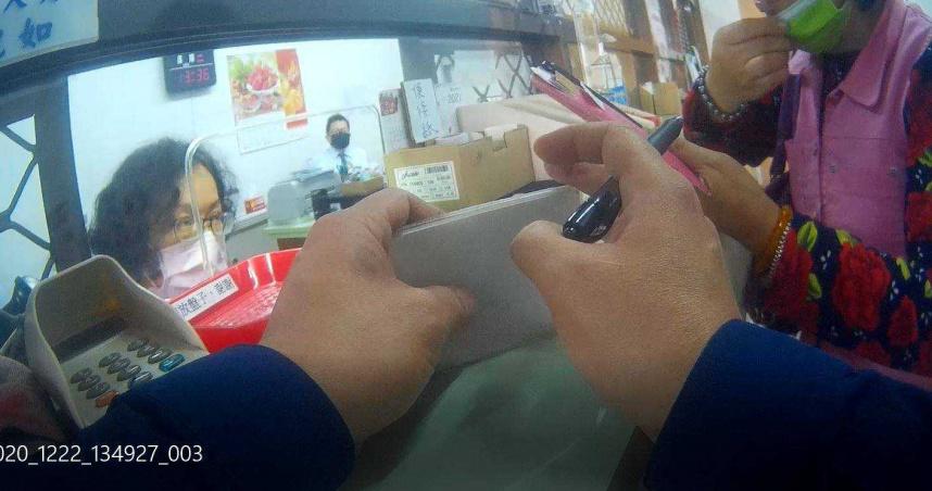 代售納骨塔詐騙老梗又出現 台南婦抱2萬匯款遭警勸阻