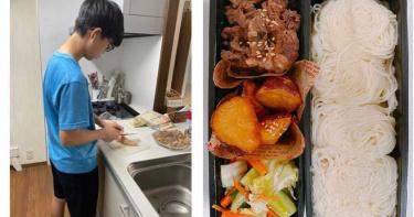 廚藝進化史!國三兒花274元做晚餐 美食照驚艷全場