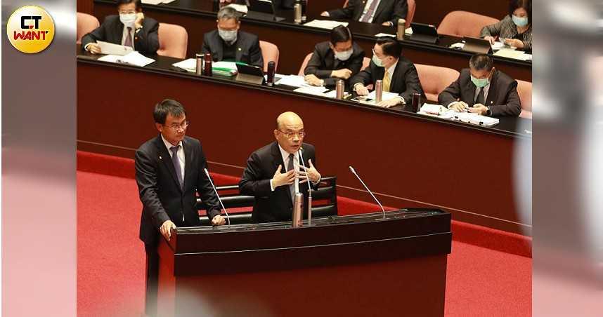 傳蘇貞昌有意找「網路高手」任政院發言人 曾被爆網路帶風向、霸凌記者