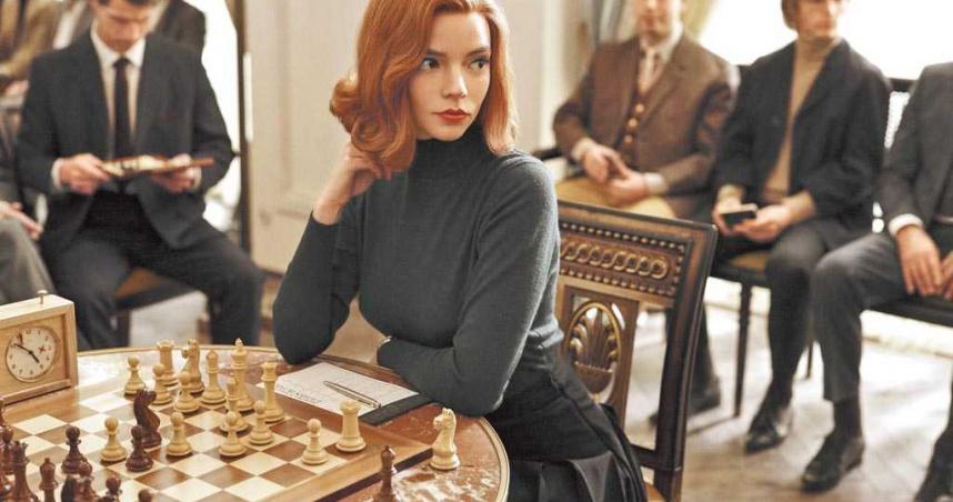 飾演天才西洋棋手    安雅對西洋棋一竅不通