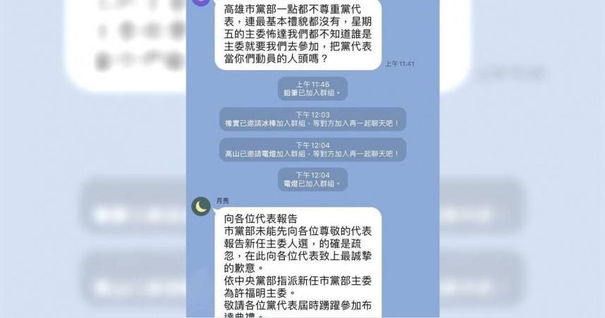 主委上任前夕 KMT高雄黨部驚爆「 黨代表爆退」