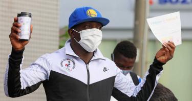 烏干達東奧選手本想在日當難民 落跑4天轉念搭機回國