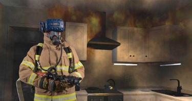 打火英雄培訓HTC升級版 VR虛擬火場實境