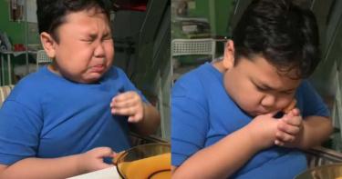 麥當勞解封!9歲小胖弟激動爆哭…「捧雞塊貼臉」萌翻網友