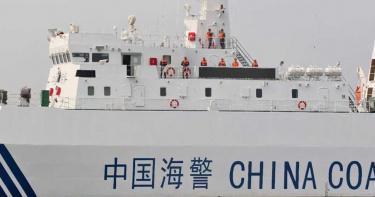中國派遣海警船巡航釣魚台 海警法實施後首次出動「大型武裝船」