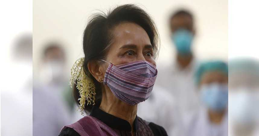 緬甸軍方政變後慘遭囚禁3個多月 翁山蘇姬首次露面應訊