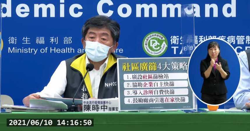 三級警戒即將滿1個月!陳時中坦言「沒有放鬆本錢」:病毒非常頑強