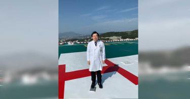 德國基金會視訊專訪北榮 醫曝:SARS後準備17年、台灣成功非僥倖