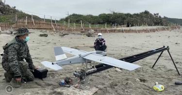 F-5E墜海/潘穎諄搜救第三天 出動無人機專攻海線