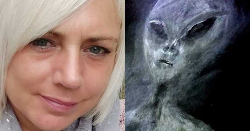 50歲女子聲稱「遭外星人綁架52次」 親畫長相並自曝「首次接觸」全過程