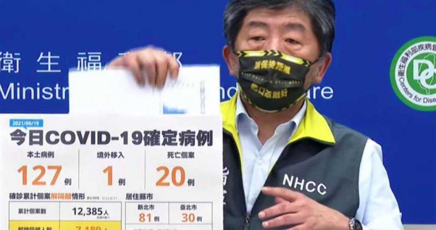 陳時中配戴「保持距離」口罩太潮!鄉民記者歪樓狂刷哪裡買 本人解答了