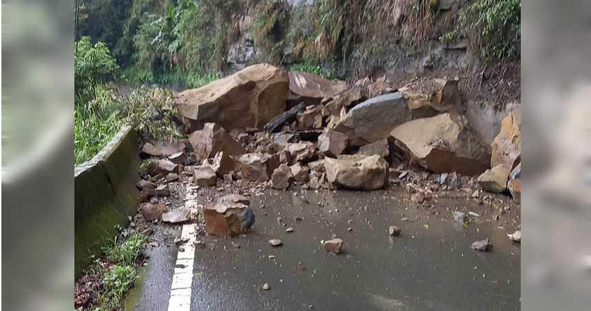 連日降雨!嘉義山路坍方 131、133線交通中斷
