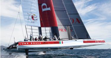 新錶伴Luna Rossa賽艇下水 目標挑戰美洲盃王座