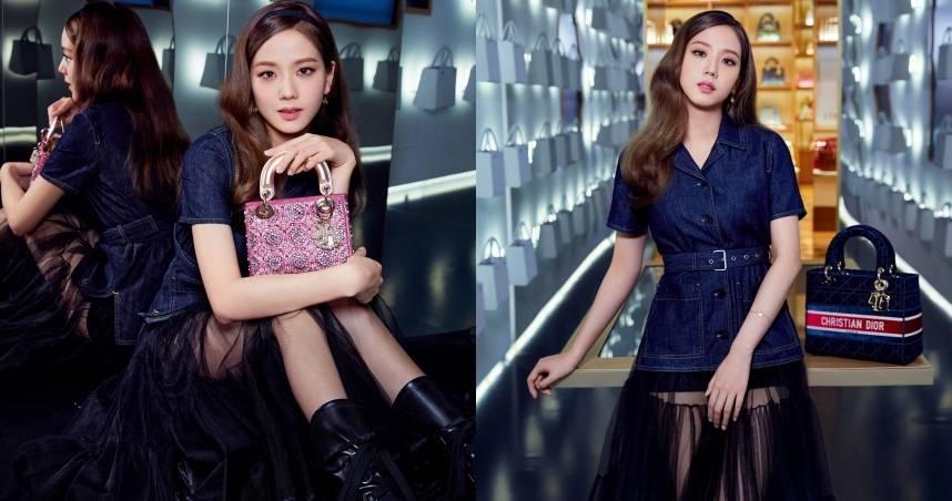 Jisoo 化身Dior店長,帶你參觀位於現代首爾百貨的 Lady Dior 期間限定店