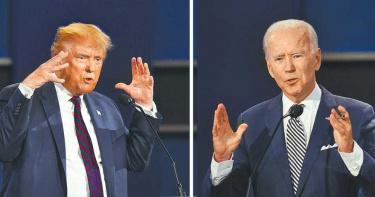 美大選辯論最終戰!川普再槓拜登 6大議題備受關注
