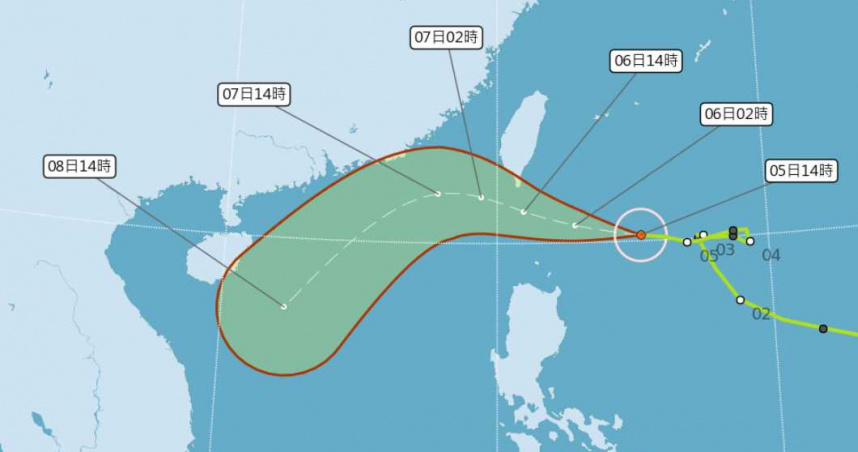 首颱撲本島!閃電輕颱海陸警齊發 歷年11月颱風「象神」造成64死