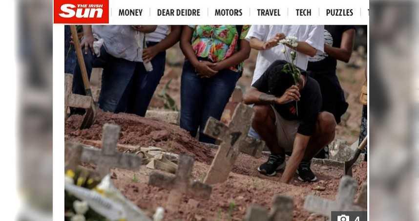 巴西出現變種病毒…死亡人數激增 工人憂:不知還能撐多久