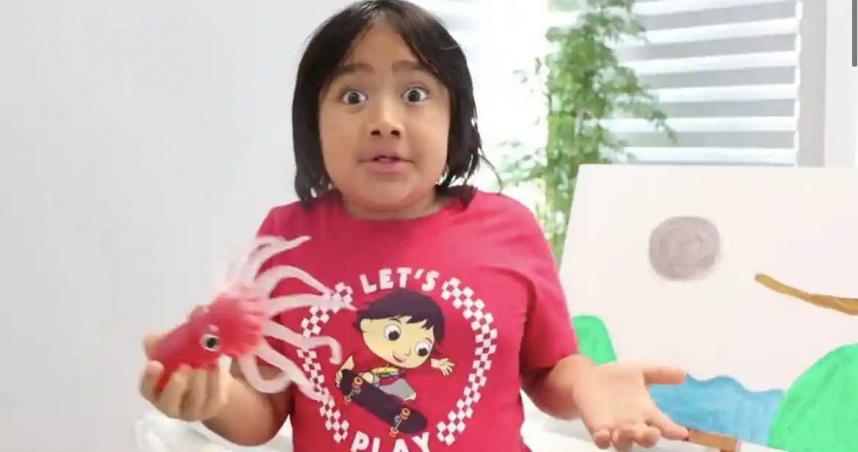 9歲男孩年賺8.3億 成為全球最賺錢YouTuber第一人
