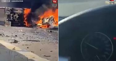 玩命飆速!時速170km逆向狂飆 23歲女駕駛對撞卡車慘被燒成焦屍
