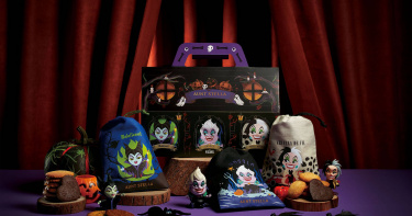 迪士尼迷人反派報到 萬聖節限量餅乾 裝進黑魔女、烏蘇拉、庫伊拉束口袋