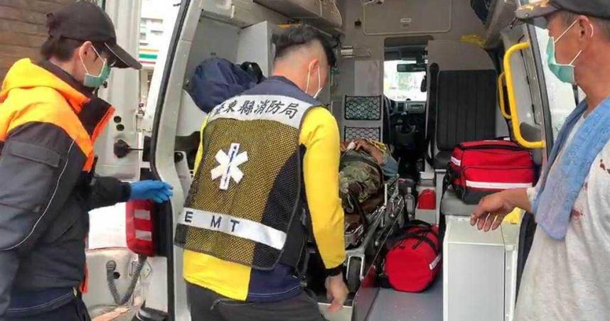 台東飛行傘出意外 教練墜落頭部重創